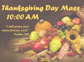 Thanksgiving Day Mass