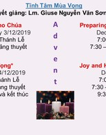 Preparing the Way to the Lord (in Vietnamese) Retreat