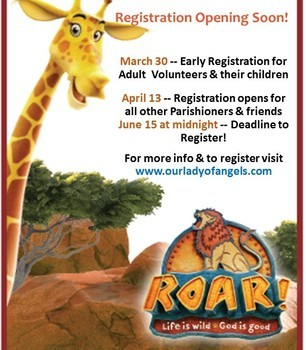 VBS Registration Open for all!