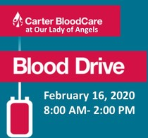 Blood Drive - Sign up after Mass