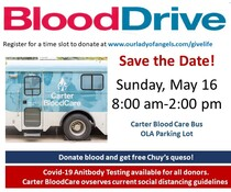 Blood Drive - Carter Blood Care Bus