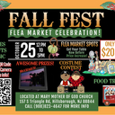 FALL FEST, FLEA MARKET AND CELEBRATION-------Sunday-October 25 at Mary, Mother of God. 12-5 pm