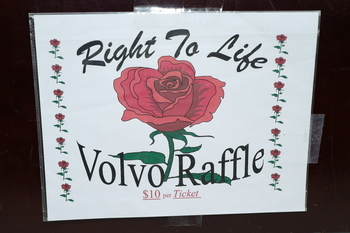 New Jersey Right to Life Car Raffle