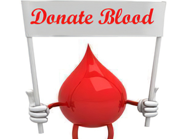 Blood Drive Sunday, October 25, 2020 -8:30 am-1:30 pm.