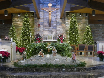 Christmas Mass Eve/Day Mass Schedule (click for details)