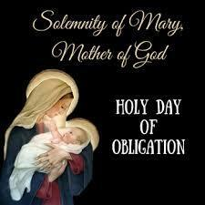 Solemnity of Mary, Mother of God (January 1, 2021)
