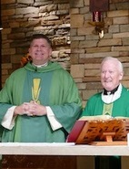 First Mass  <br />together