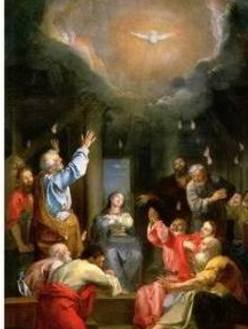 Pentecost Sunday, Holy Hour at 3:00 pm on May 31.