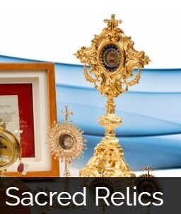 Sacred Relics of the Saints:  Treasures of the Church  -  Tuesday, October 19, 6:30 PM