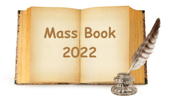 Mass Intentions Book and Memorial Society for 2022-  Sunday, June 27 at 1 pm
