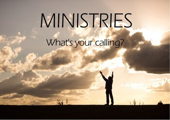 MINISTRIESWhat's your calling?