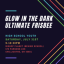 HS Youth Event