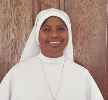 Coffee & Donuts - welcome Sr. Zephrina