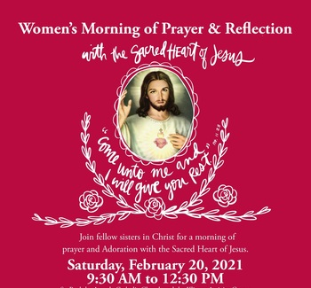 Women attending Morning of Reflection at St. Paul's Westerville