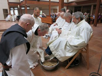 Holy Thursday 2018 – By Abbot Peter McCarthy
