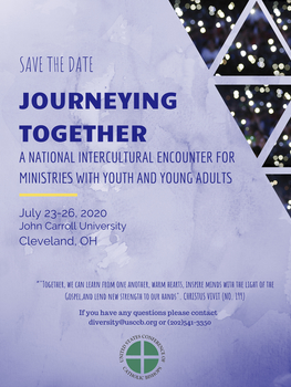 Journeying Together: A National Intercultural Encounter for Ministries with Youth and Young