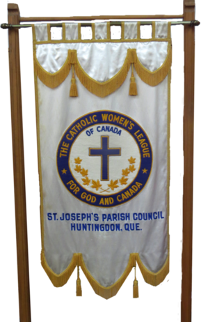 Catholic Women's League banner