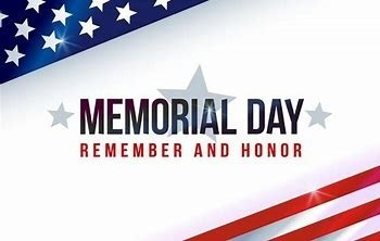 Memorial Day - Rectory office will be closed