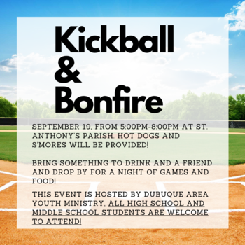 Kickball and Bonfire