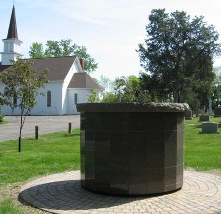 Saint Joseph Cemetery and Columbarium at the Historic Little Church, Plymouth, Minnesota