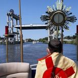 Eucharistic Procession on Bayou Lafourche- 2020