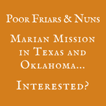 Marian Mission: Texas and Oklahoma!