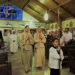 Sr. Caterina's 1st Vows