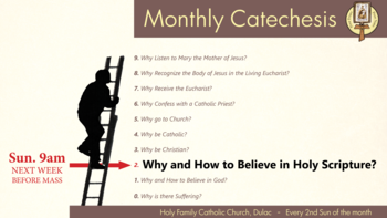 Monthly Catechesis Gathering!