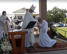 Friar Nathaniel's Diaconate Ordination