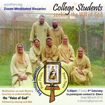 Discernment Rosary for College Students