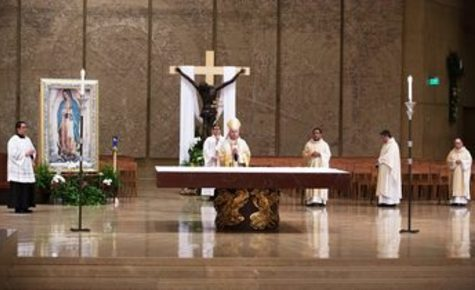 At an empty Easter Vigil, a word of hope for RCIA catechumens