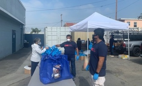 Archbishop Gomez calls for food drives on Pentecost weekend