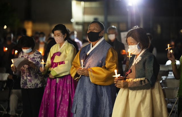 Gratitude, solidarity with Asians expressed at vigil amid rise in attacks