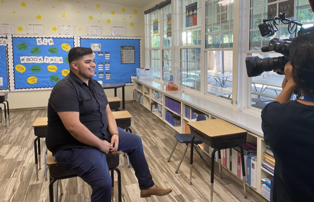 First-year Paramount teacher gets a national TV on-air surprise