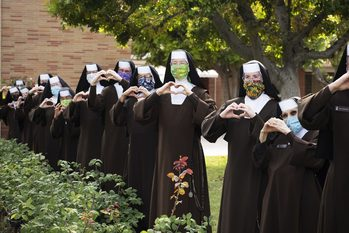 Order of Malta, Carmelites get creative to deliver 'care for the caregivers' in LA