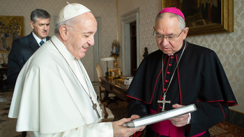 Pope calls Archbishop Gomez to thank U.S. bishops for response to George Floyd death