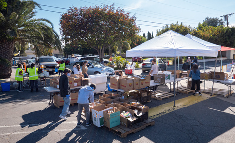 'Driven by God': Venice parish's food drive thrives in the pandemic economy