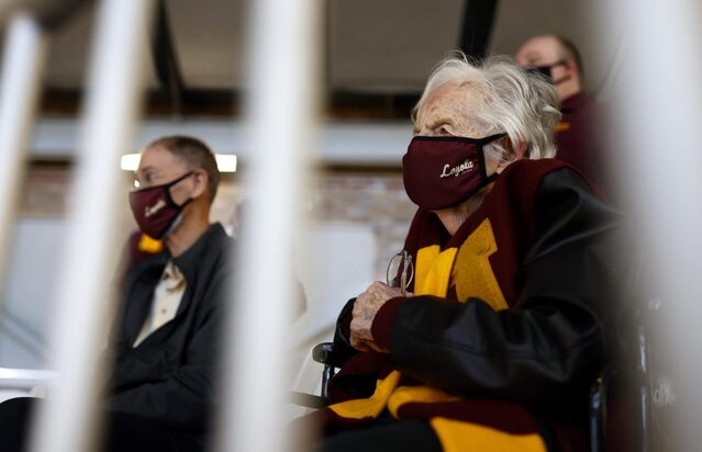 From LA to Indy, Sister Jean's 'mad' run can't be stopped