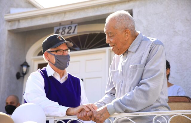 At 99, LA's oldest deacon is still finding ways to serve
