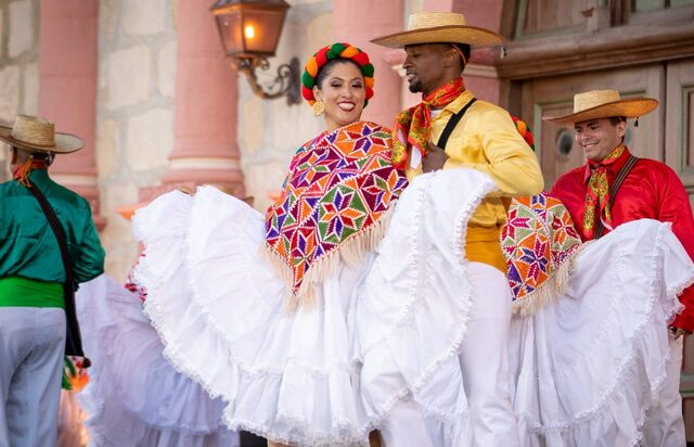 For SoCal folklorico group, dancing is an act of faith