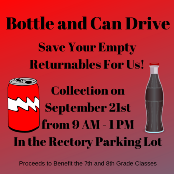 Bottle and Can Drive