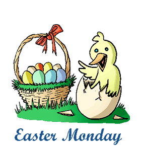 Easter Monday-No School