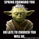 Spring Forward This Weekend