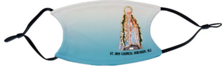Saint Ann with Blessed Mother on Feast Day Mask