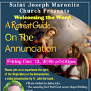 Retreat Guide to the Annunciation