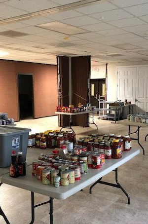 Interm Food Pantry at St. John Neuann, Gaithersburg