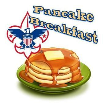 Pancake Breakfast hosted by Boy Scouts