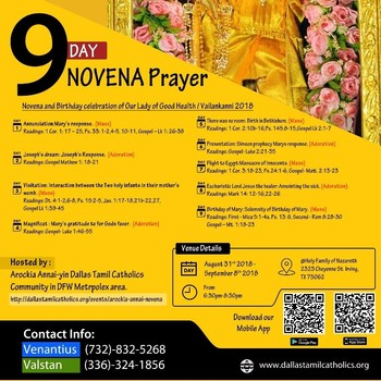 Our Lady of Good Health Novena