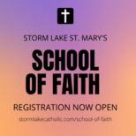 SCHOOL OF FAITH REGISTRATION OPEN