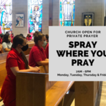 Private Prayer - Spray Where You Pray!